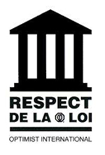 Optimiste respect de la loi