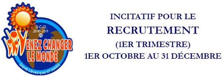 Recrutement incitatif