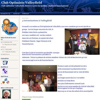 Club optimiste Valleyfield