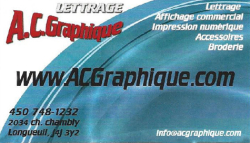 Lettrage A.C. Graphique