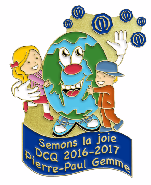 Semons la joies District Centre du Québec 2016-2017