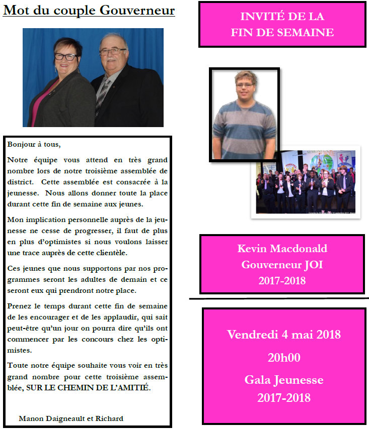 Programme 3e assemblée de District 4-5-6 mai 2018  District Centre du Québec-1