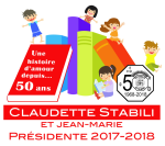 Club optim iste Saint-Hubert  Claudette Stabili et Jean-Marie  présidente 2017-2018