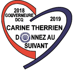 Logo Gouverneure - Carine Therrien - 2018-2019 - District Centre du Québec