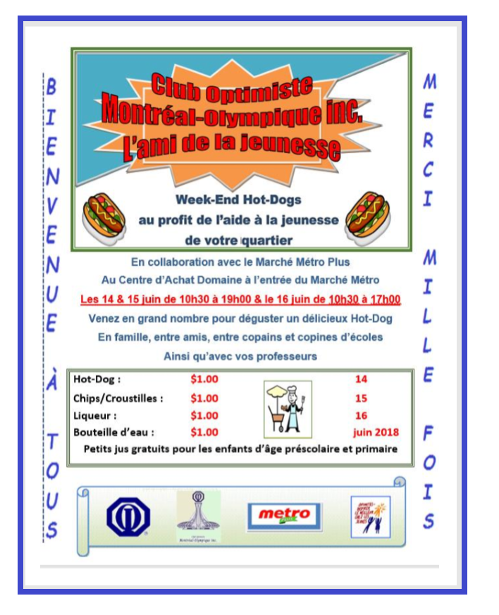 AFFICHE WEEK-END HOT-DOG 2018 FIN