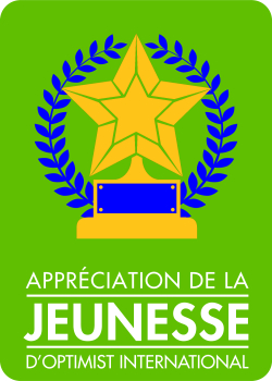 Appréciation de la jeunesse optimiste international DCQ