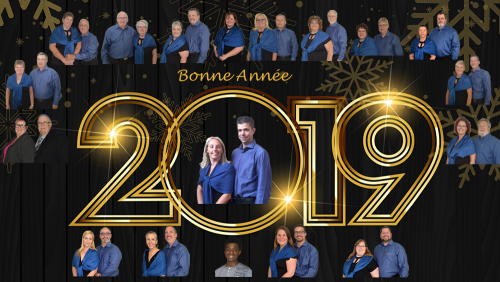 Bonne année 2019  District Centre du Québec  Optimist International
