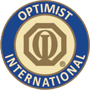 Logo Optimist International cut