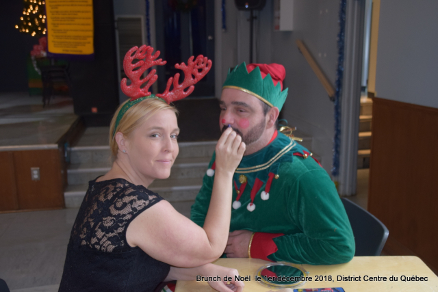 Brunch de Noël  le 1er décembre 2018  District Centre du Québec (2)